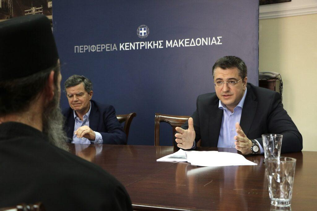 Περιφέρεια Κεντρ. Μακεδονίας: Σύσκεψη για την αποκατάσταση των ...