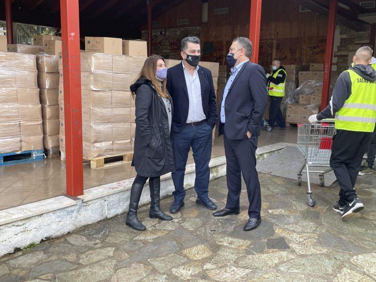 Ολοκληρώθηκε η διανομή προϊόντων ΤΕΒΑ από τον δήμο Ζωγράφου