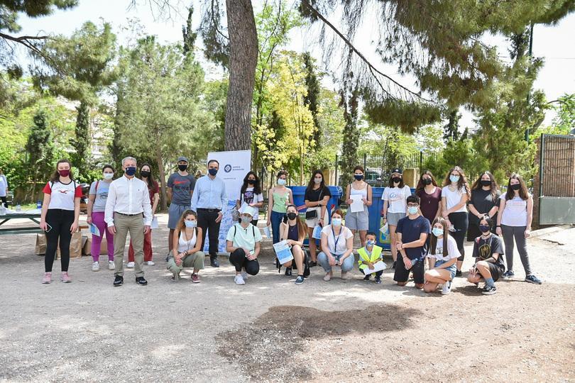 Κοινή δράση ανακύκλωσης του Δήμου Αθηναίων με 30 μαθητές- εθελοντές από «Το Χαμόγελο του Παιδιού»