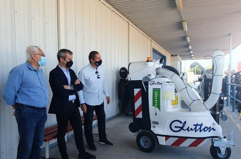 Δήμος Θεσσαλονίκης: Με 10 ηλεκτρικά σάρωθρα ενισχύθηκε ο τομέας καθαριότητας