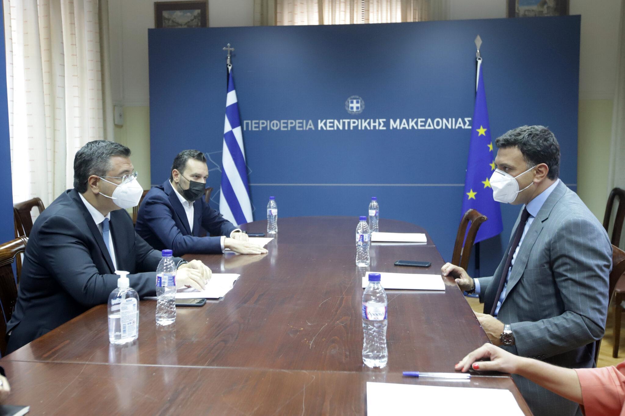 Συνάντηση Κικίλια – Τζιτζικώστα: Μετατροπή του λιμανιού Θεσσαλονίκης σε home port και hub και ανάπτυξη της κρουαζιέρας