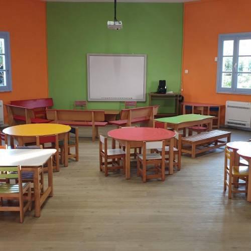 Νηπιαγωγείο – στολίδι στους Λειψούς: Ολική αναμόρφωση στον χώρο που θα υποδεχτεί τους 13 μικρούς μαθητές (Εικόνες)