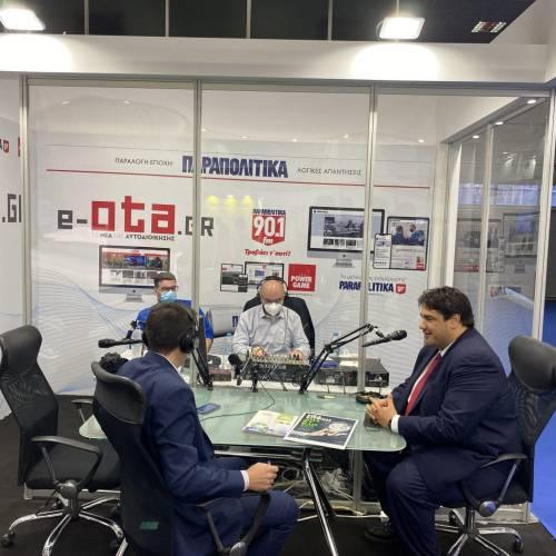 Το e-ota.gr στη Θεσσαλονίκη για το Συνέδριο της ΚΕΔΕ – Ζωντανές συνεντεύξεις με υπουργούς και δημάρχους